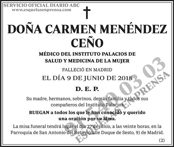 Carmen Menéndez Ceño